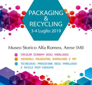 Convegno Packaging&Recycling 2019